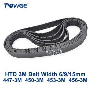 Image 1 - POWGE courroie de synchronisation HTD 3M
