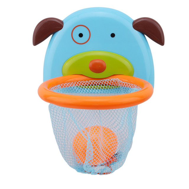 Puppy Shaped Basketball Hoop with Balls