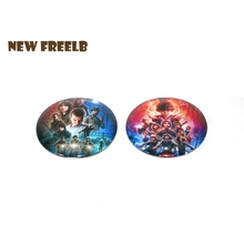 Hot TV Show Stranger Things Season 1 2 Button Pin Brooch Badge For friends Great Gift Children Students School Bag Backpack 58mm