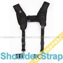 Pro Camera accessories Quick Double Shoulder Belt Strap for 2 Cameras SLR DSLR Shoulder Pad Photo Studio Accessories