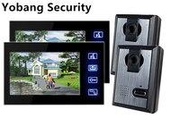 Freeship By DHL 7 Inch Door Monitor Door Intercom For Hotel Multi Apartment Video Door Phone