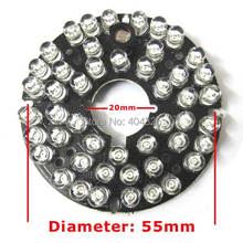 10pcs 48 LEDs 5mm Infrared IR 60 Degrees Bulbs Board 850nm Illuminator For CCTV Camera