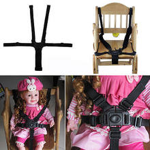 Baby 5 Point Safety Harness Stroller Kids High Chair Pram Buggy Car Belt Strap Home Accessories(China)