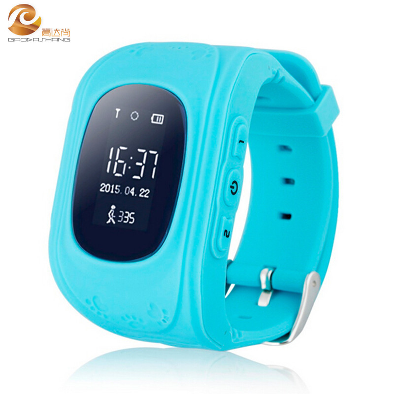 DHL Free Fast shipping AntiLose GPS Tracker Smart Watch For Kids Q50 SOS Emergency Bluetooth connect to Iphone Samsung LG Huawei