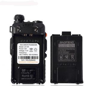 Image 4 - NEWEST Original Baofeng UV 5R HF transceiver UV 5R Bao Feng for UV5R Radio Portable UHF VHF Dual Band Dual Display WalkieTalkie