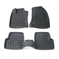 SHINEKA Car Accessories Rubber Floor Mats Carpets Foot Pad For Jeep Renegade 2015 2016
