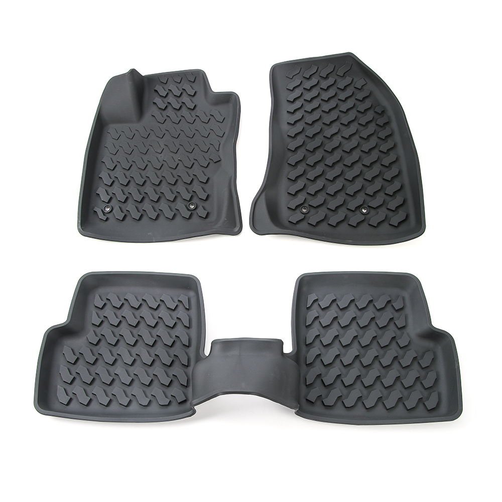 SHINEKA Car Accessories Rubber Floor Mats Carpets Foot Pad For Jeep Renegade 2015-2016 10 16 for land rover discovery 4 l319 2010 2016 accessories interior leather carpets cover car foot mat floor pad 1set