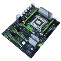 X79T DDR3 PC Desktops Motherboard LGA 2011 CPU Computer 4 Channel x79 Turbo Gaming Mainboard SATA 3