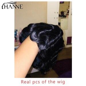 Image 3 - Perucas de cabelo humano curto da peruca da onda do dedo perucas de cabelo da mamã para a cor natural preta das mulheres/99j/4 #/27 #/30 # hanne cabelo