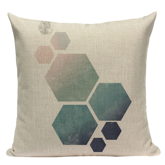 Nordic Pop Geometric Pillowcase Size: L313 Color: L313-6