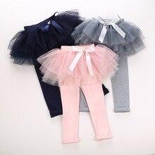 Новинка года; брюки для девочек; сезон осень-зима леггинсы для маленьких девочек юбка-пачка; Праздничная юбка принцессы леггинсы милые брюки с галстуком-бабочкой