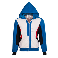 OW SOLDIER 76 Cosplay Hoodie Baseball Uniforms Velvet Coat Spring Coat Free Shipping