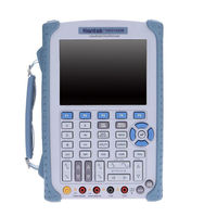 Hantek DSO1202B Ручной осциллограф 2CH 200 мГц 1GSa/s 1 м глубина памяти осциллограф с 6000 мультиметр прямые продажи с фабрики
