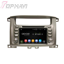 7″ Quad Core Android 5.1 Car GPS Navigation For Toyota Lander Cruiser 100 With Radio Multimedia Video Mirror Link 16GB Flash