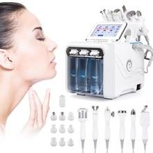 6 в 1 машина для дермабразии воды машина для глубокого очищения струи воды гидро алмаз лица Чистая омертвевшая кожа удаление для салонного использования