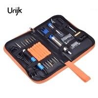 Urijk EU USA UK 60W Electric Soldering Iron Set Temperature Adjustable Welding Repair Tool Kit Tips