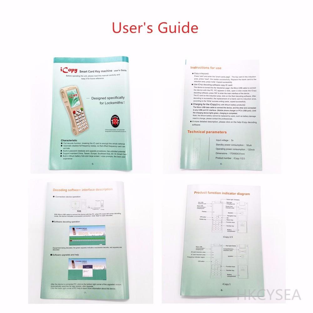 ciecoo icopy3 user manual