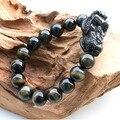 Синий тигровый глаз Pixiu браслет фэн-шуй бусины браслет лаки животных Piyao ювелирных изделий
