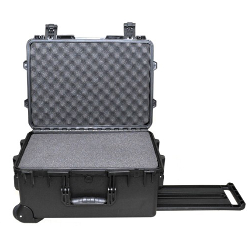 extern 570 x 416 x 282 mm inbegrepen plukschuim model 1560 waterdichte, krachtige kunststof stormkoffer voor camerabescherming