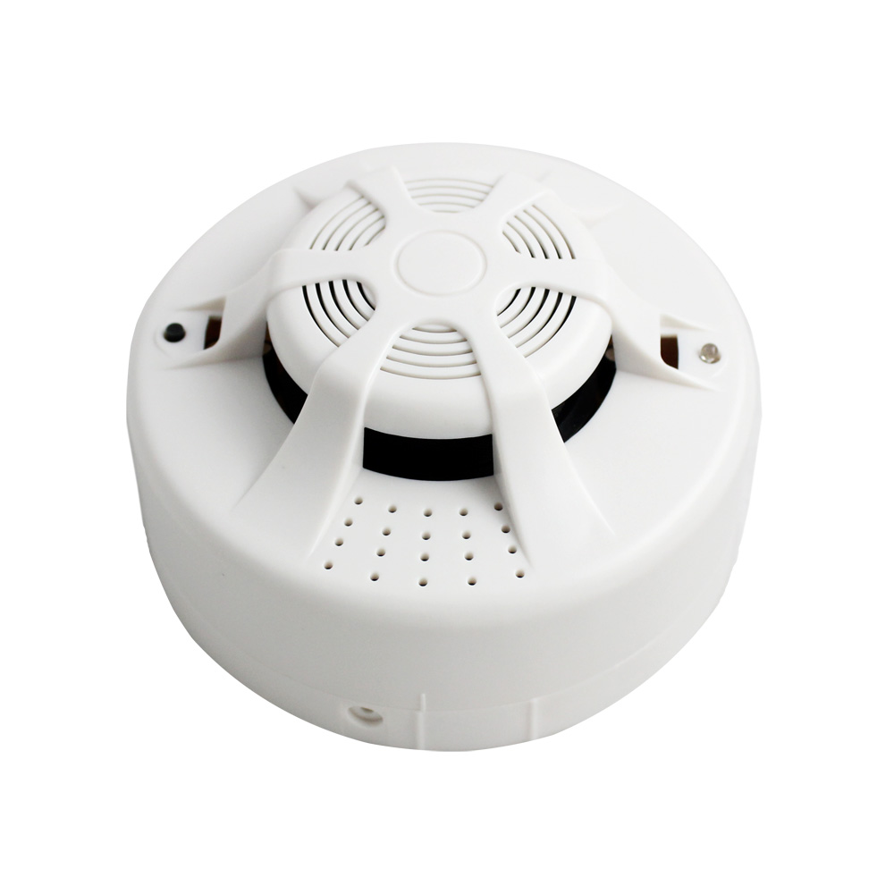Minritech 9V Wireless Smoke/fire Detector smoke alarm for Touch Keypad Panel wifi GSM Home Security System wireless smoke fire detector for wireless for touch keypad panel wifi gsm home security burglar voice alarm system