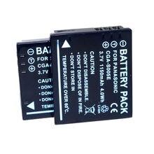 Li-ion para Panasonic Conenset 2 PC Câmera Cga-s005 Cga-s005e Bateria Dmc-fx150 Dmc-fx180 Dmc-fx100