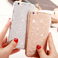"Bling Glitter Powder Case For iPhone Case For iphone 6S 6 Plus 4.7/5.5"" Thin Shining Back Cover Protective Phone Cases Coque HOT"