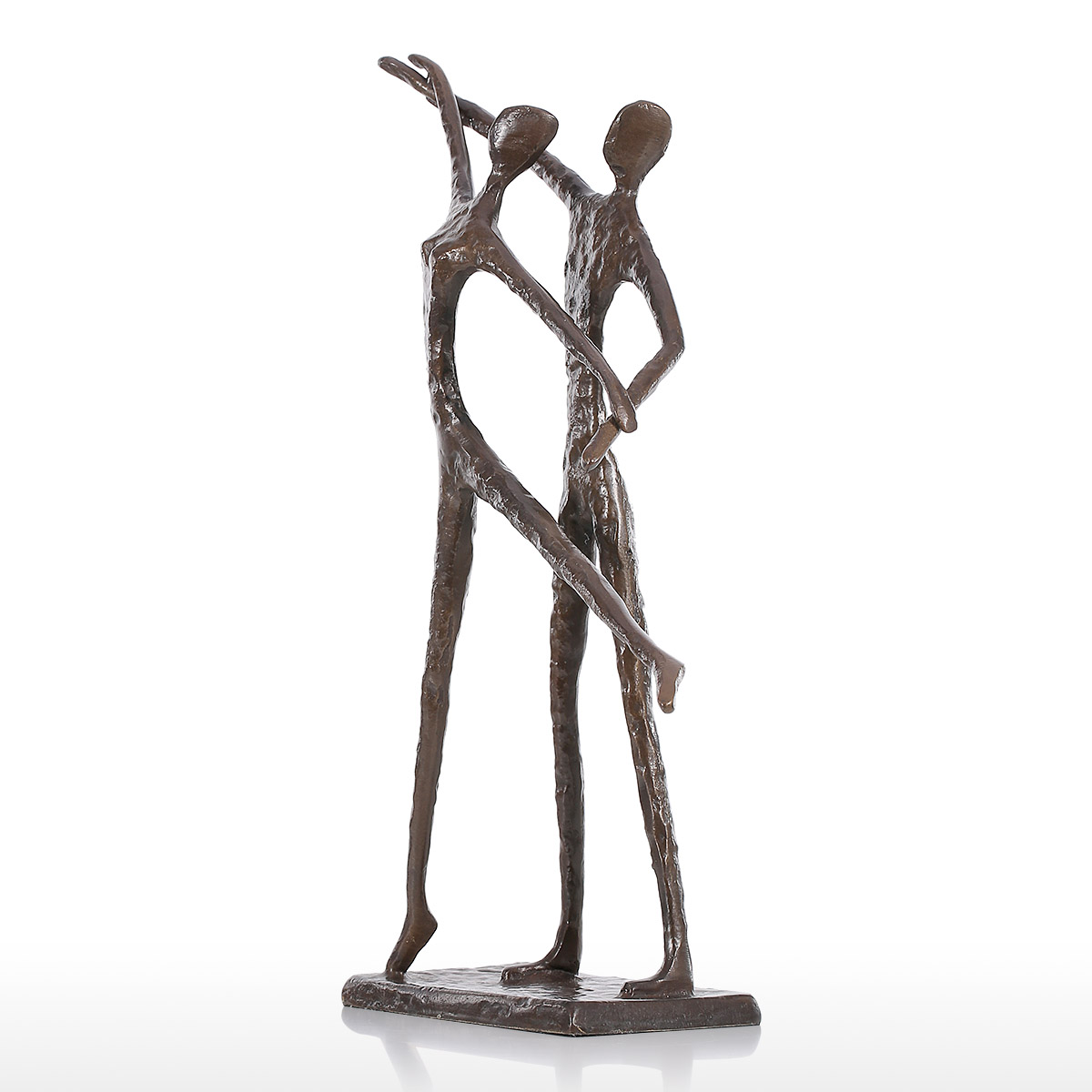 popular dancing figurinesbuy cheap dancing figurines lots from  - tooarts double dance  modern dance bronze sculpture metal sculpture homedecor art gift figurines home