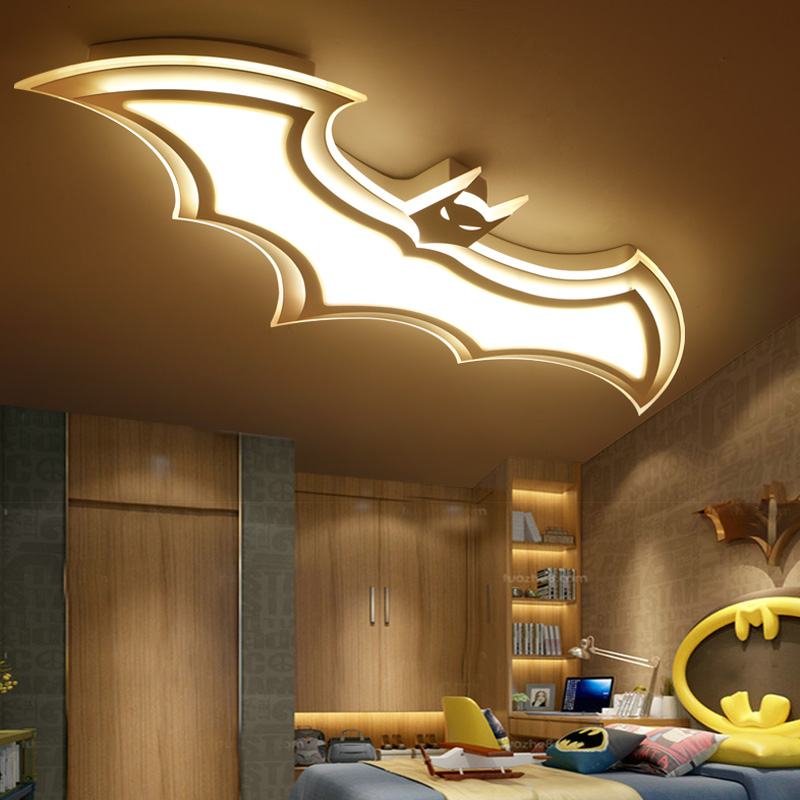 Acrylic Star Ceiling Light Decorative Kids Bedroom Lamp Modern Children Room Lights