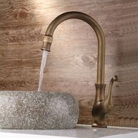 single hot and cold water mixing valve copper basin faucet , home washbasin sink bathroom wash basin faucet