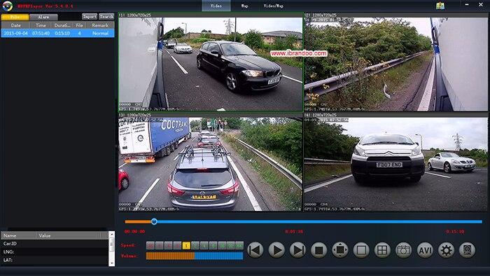 BD-327 720p CAR VR video quality-2-s