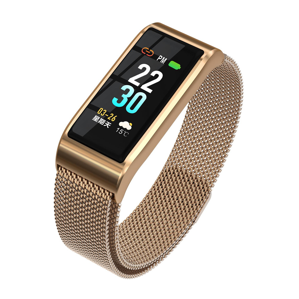 New B29S Milan Tape Smart Watch Bracelet 24-hour Continuous Heart Rate Monitor Blood Pressure Sleep Monitor Call Message SittingNew B29S Milan Tape Smart Watch Bracelet 24-hour Continuous Heart Rate Monitor Blood Pressure Sleep Monitor Call Message Sitting