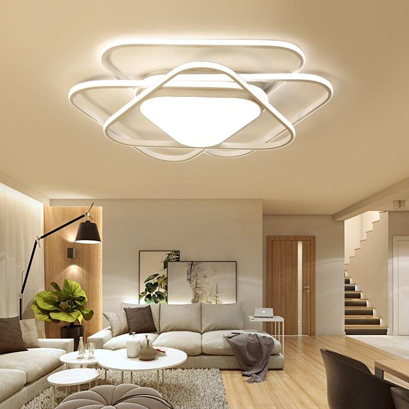 New Designer Modern Led Ceiling Lights For Living Study Room Bedroom lampe plafond avize AC85-265V Indoor Ceiling Lamp Fixtures