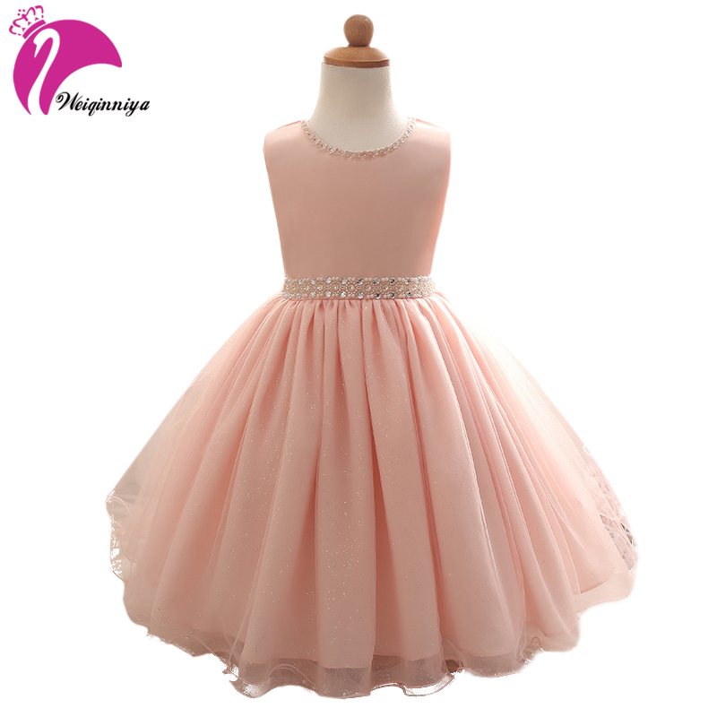 Princess Dress Children Clothes Sleeveless Birthday Summer Dresses For Girls Vestidos Party Costume For Kids Dresses For Girls high quality casual cotton striped dress for girls teenagers kids summer sleeveless soft vest vestidos children costume