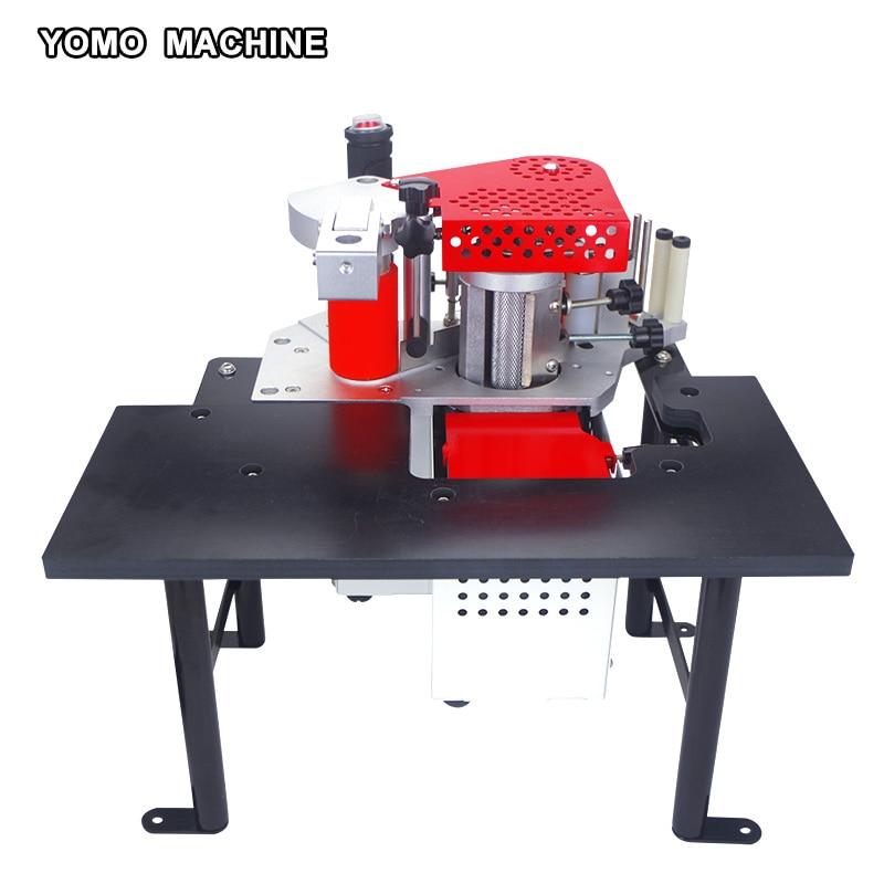 Trasporto libero su due lati di bordo macchina di lavorazione del legno PVC bordo bander MY60 110 v/220 v