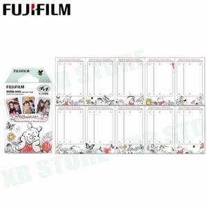 Image 3 - Fujifilm Instax Mini 8 9 Film Winnie pooh Fuji Instant Foto Papier 40 Vel 70 7 s 50 s 50i 90 25 Delen SP 1 2 Camera