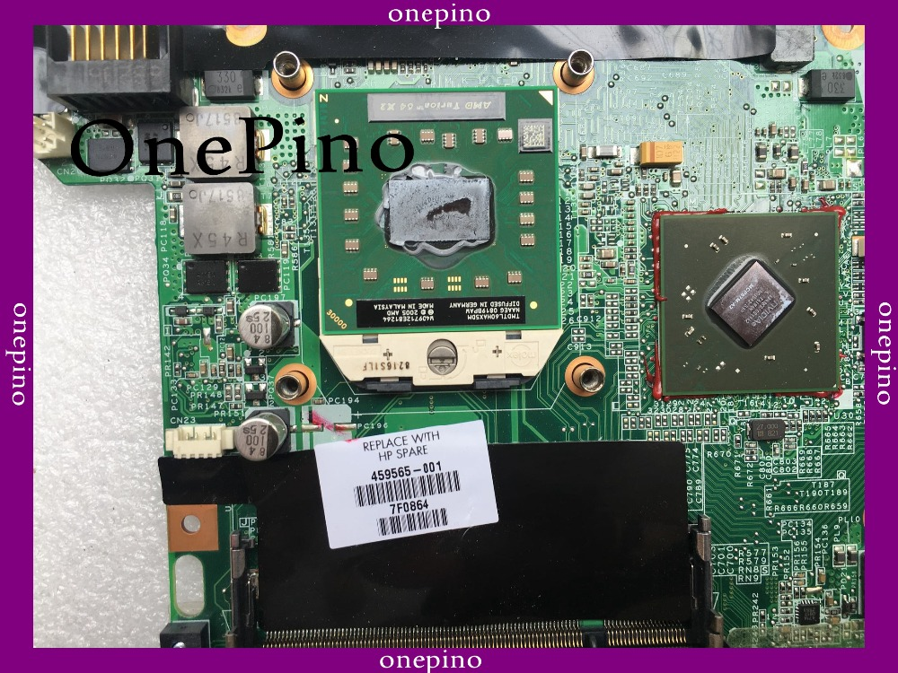 With CPU 459565-001 DA0AT1MB8H0 Laptop Motherboard. DV6000 Motherboard 459565-001 Working Perfectly