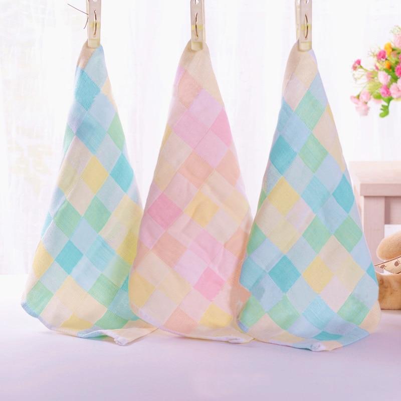 28*28cm Baby Towel fashion superfine fiber Kid Bath Towels Washcloth Square Towel Children Kitchen Bathroom Wipe Wash Cloth gift
