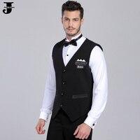 2016 New Arrival Men Ballroom Dance Tops Vest With Diamond Mens Ballroom Shirts Dancewear DQ7002
