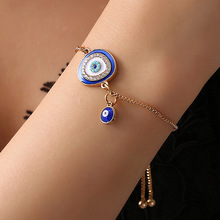 2019 Newest  Fashion Jewelry Women Evil Eye Bracelets For Handmade Gold Chains Lucky Bracelet Woman Best Gift