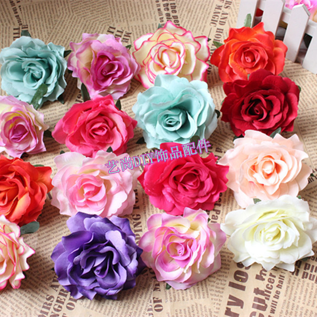 10cm large silk flowersartificial roses heads for diy craft flower 10cm large silk flowersartificial roses heads for diy craft flower arrangementswedding arch mightylinksfo