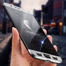 360 Full Body Protection Case For Xiaomi Mi Note 3 Ultra Thin Anti knock Cover Hard Plastic Smart Phone Cases For Xiaomi Note3(China)