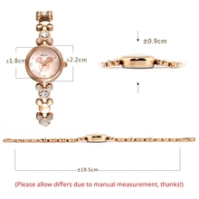 Mickey Mouse Bling Rhinestone Bracelet Waterproof Watches (3 colors)