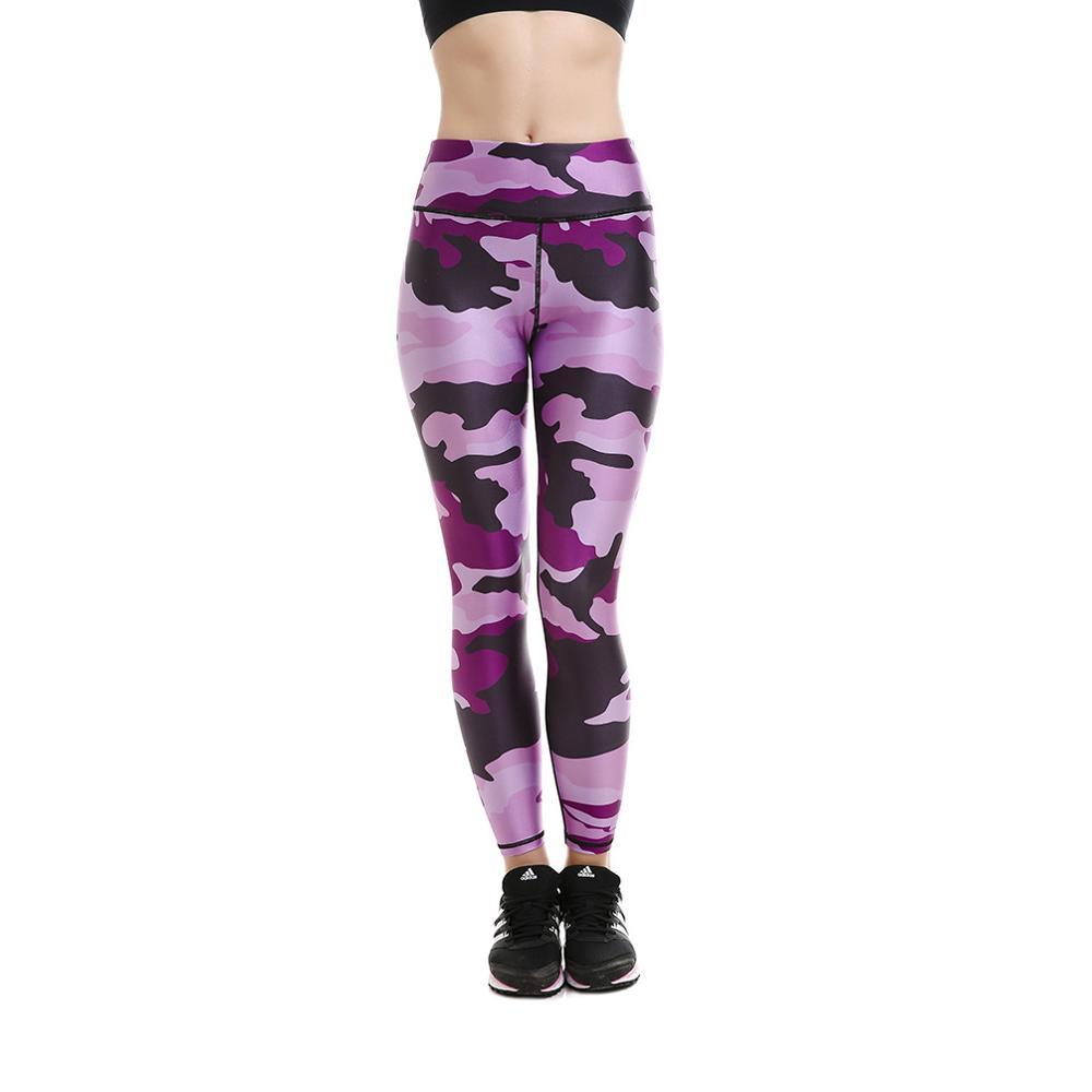 Ungu Muda Kamuflase Olahraga Yoga Celana Activewear Pakaian Pakaian Olahraga Legging Kebugaran Latihan Pakai Untuk Wanita Yoga Pants Sports Yoga Pantssport Yoga Aliexpress