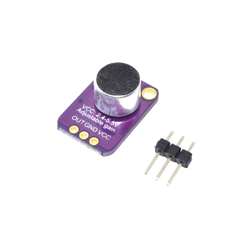 GY-MAX4466 Electret Microphone Module MAX4466 Adjustable Gain for Arduino