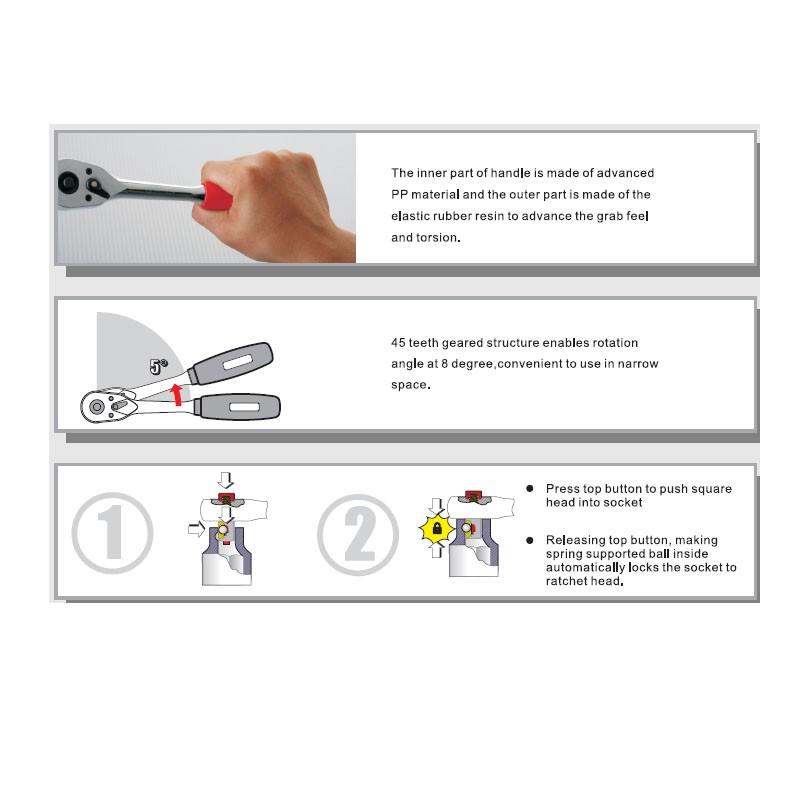 15pcs socket tool set share