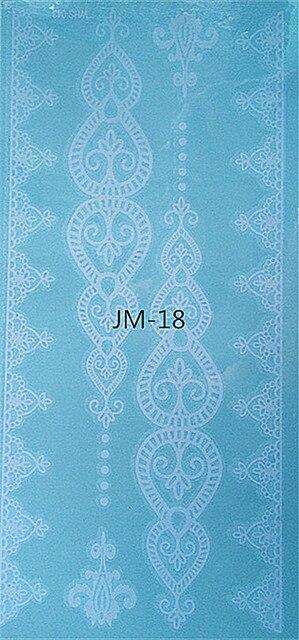 Jm 18 Flash Wodoodporna Tatuaż Kobiety Czarny Biały Jewel Koronka