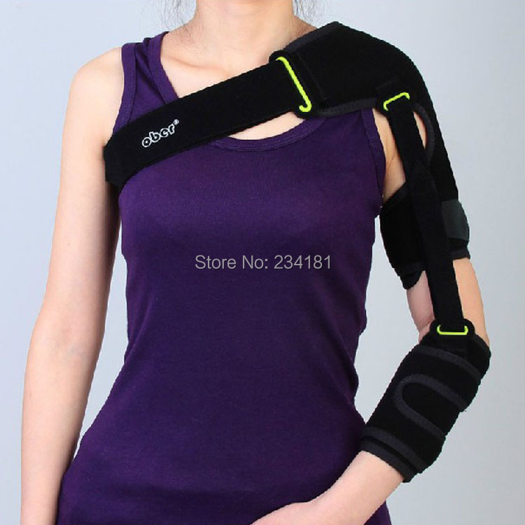 ФОТО Updated lm-l version shoulder brace belt Shoulder joint fixed stroke hemiplegia dislocated shoulder support belt straps