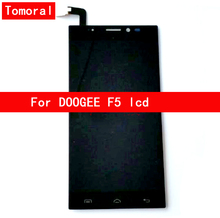 100 Brand New For DOOGEE F5 LCD Display Touch Screen Digitizer Replacement Free Shipping