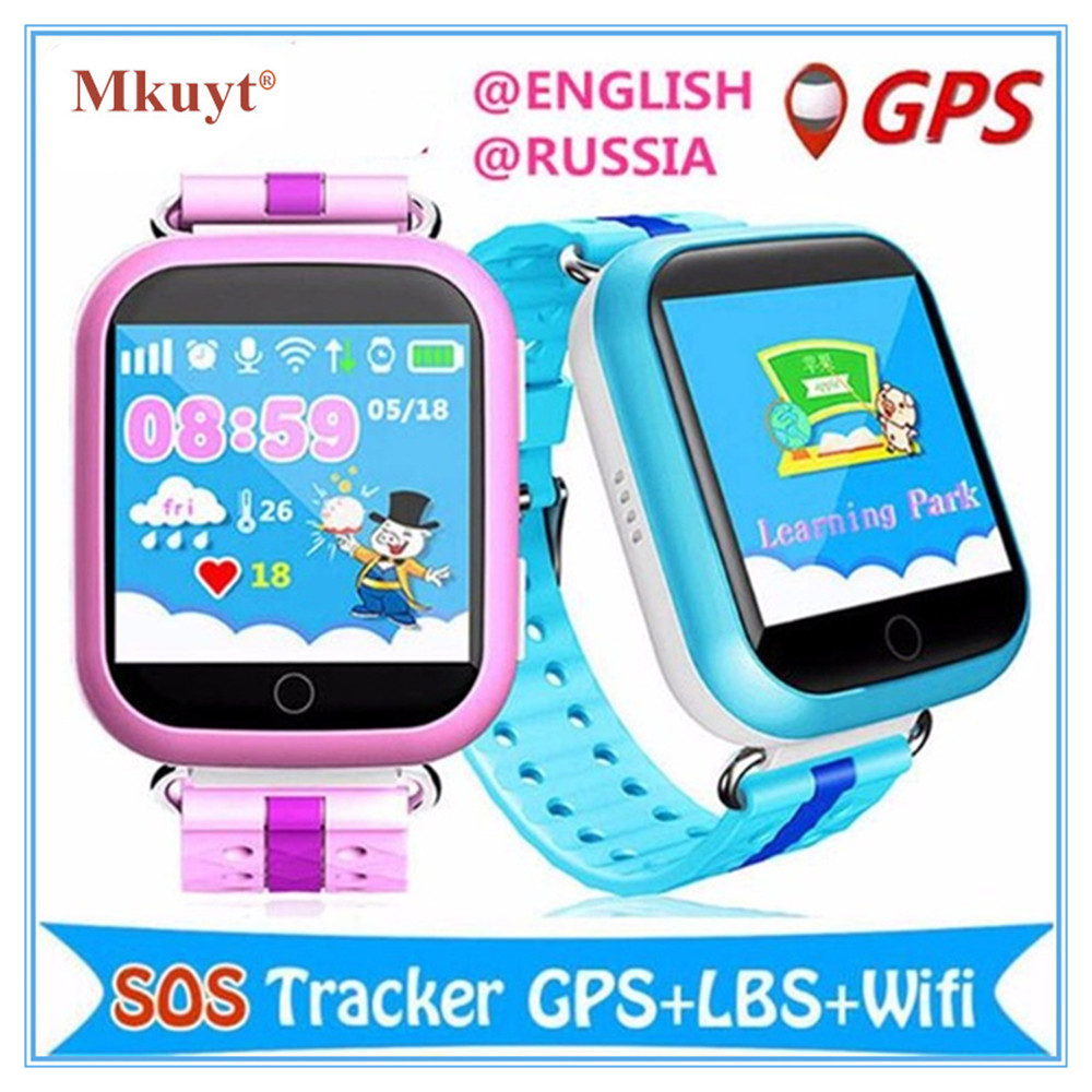 MKUYT GPS WIFI Q750 baby smart font b watch b font 1 54inch touch screen SOS