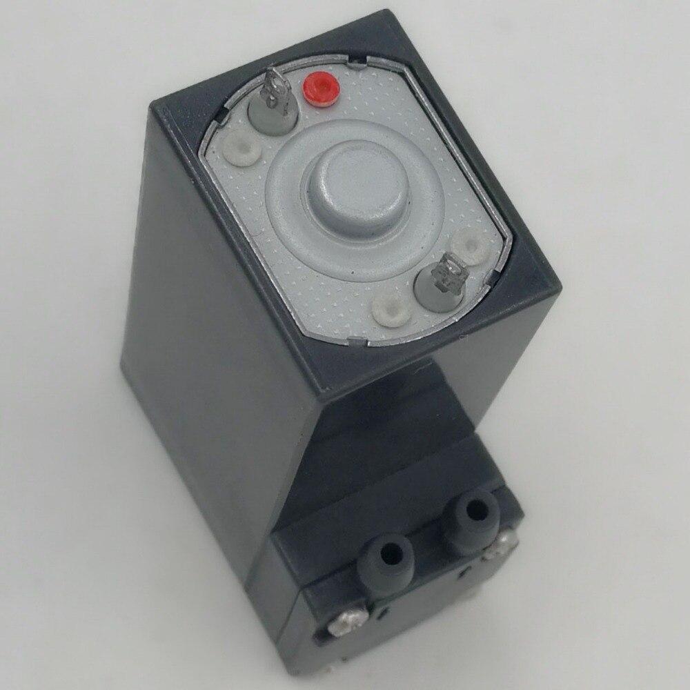 1.1L/M flow rate 100kpa pressure brush 6V dc mini air pump